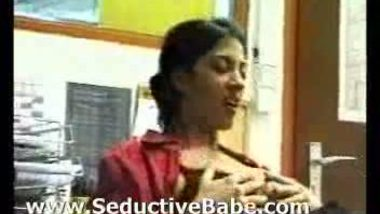 NRI babe Natasha sex in office