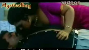 Sharmili aunty and young boy sweet romance