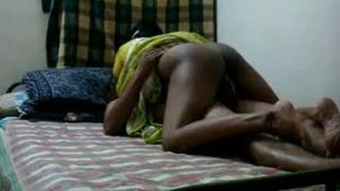 Shameless mallu maid black booty fucking owner