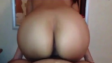 Perfect ass office girl POV sex video