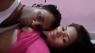 Indian Couple Titty Sucking