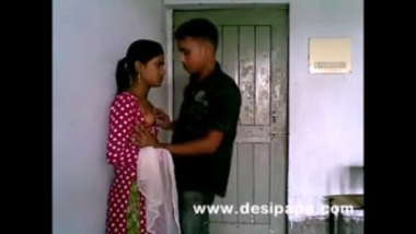 Boob press of a hot village girl
