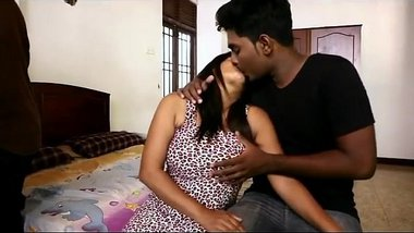 Hot desi bgrade foursome - boob squeeze and dry humping