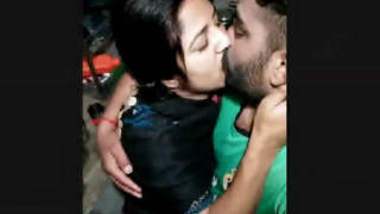 Cute Punjabi Couple Kissing