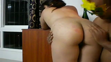 Huge ass desi wife enjoys anal home sex with husband