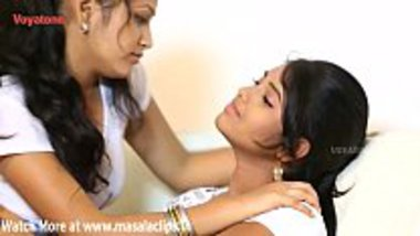 Lesbian romantic desi Indian sex video of teen family sisters
