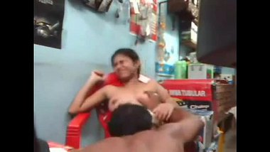 Young Desi Girl Fucked Inside Shop